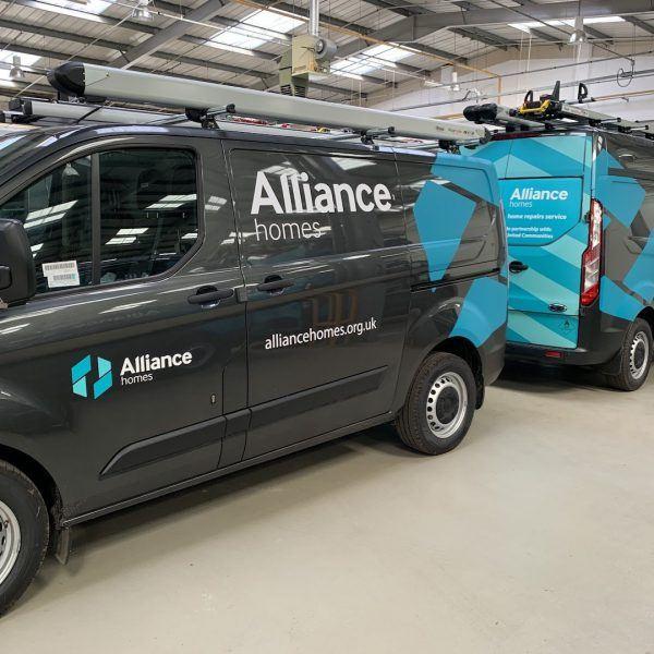 Alliance Homes vans
