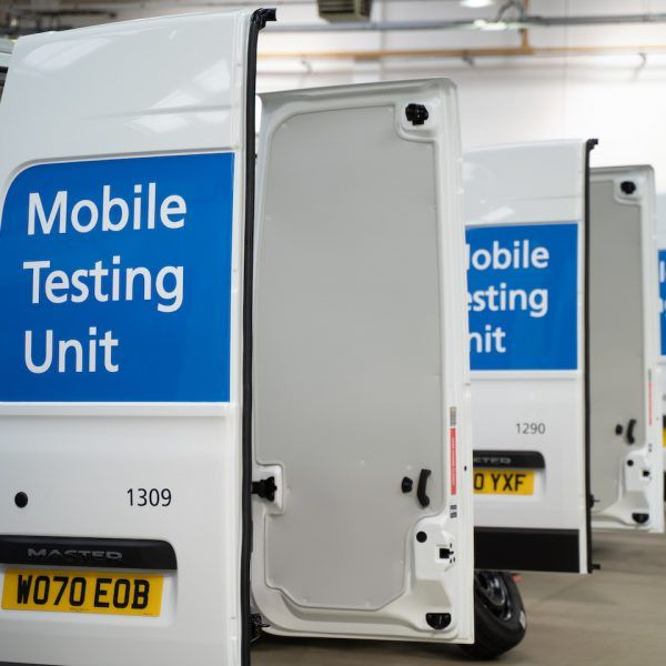 Mobile Testing Unit Livery